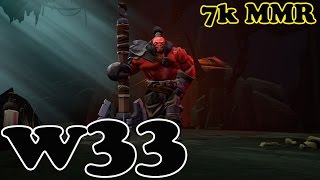 Dota 2 - w33 7k MMR Plays Axe vol 7# - Ranked Match Gameplay