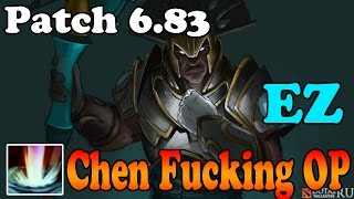 Dota 2 - Patch 6.83 - Chen Fucking OP - A new Test of faith EZ