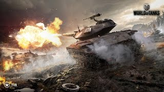 World of Tanks - Взвод на карте Лайв Окс – Стандартный бой.