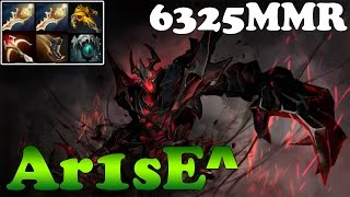 Dota 2 - Ar1sE^ Plays Shadow Fiend with 2 Divines and YapzOr Magnus 6000MMR Bracket - Ranked Match