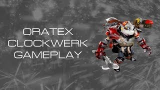 Dota 2 | OrateX Clockwerk Gameplay
