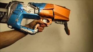 Custom Light Strike gun - Nerf conversion - Borderlands 2 prop