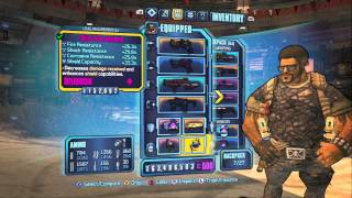 Borderlands 2 - Rampage/Brawn Lv 61 Gunzerker Build