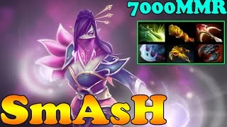 Dota 2 - SmAsH 7000 MMR Plays Templar Assassin Vol 2# - Ranked Match Gameplay!
