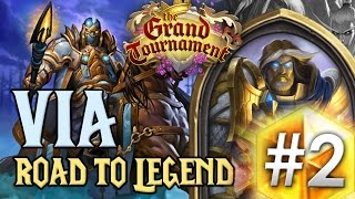 HearthStone TGT: Via - Paladin Secret #2 [Road to Legend FR]