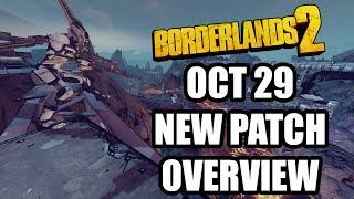 Borderlands 2: New Patch, October 29, 2015