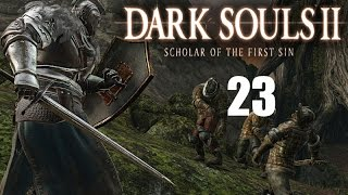 Dark Souls 2: Scholar of the First Sin Part 23 Shaded Ruins, Scorpioness Najka Boss