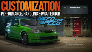 Need For Speed 2015 Customization Gameplay Trailer Breakdown! EK9 Civic, NFS Wrap Editor & More!