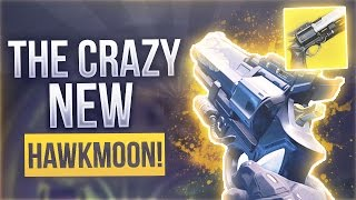 "Destiny THE EXOTIC HANDCANNON ""HAWKMOON"" - Destiny Exotic ""MOONGLOW"" Hawkmoon Ornament"