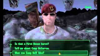Fallout New Vegas:  Boone (part 1 of 3)