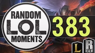 ® Random LoL Moments | Episode 383 (League of Legends)