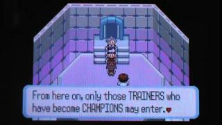 Pokemon Sapphire (Nuzlocke) Finale The True Champion Of Hoenn