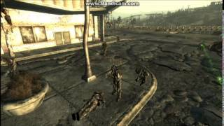 Fallout 3 NPC Battles: Enclave VS Brotherhood of steel