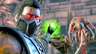 Mortal Kombat X Revenant Sub-Zero Performs All Character Fatalities