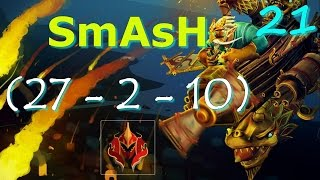 SmAsH Gyrocopter Pro Gameplay Dota 2 | Pro Dota 2 Replays
