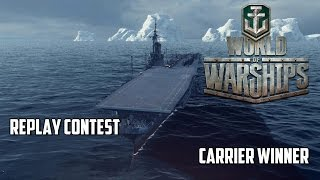World of Warships Replay Contest - Carrier Winner
