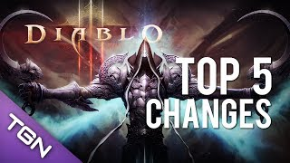 Diablo 3 : Top 5 Changes - Reaper of Souls