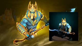DotA 2   Anuwrath Phantom Lancer Set Новый сет на лансера