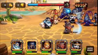 Heroes Charge Guild Raid Chapter 15 Boss Stormlord (United Setup)