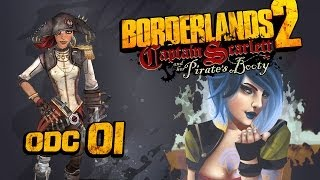 Borderlands 2: Captain Scarlett and Her Pirate's Booty - ep.1 - Co-op /w Tivolt