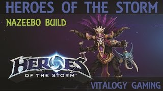 Heroes of The Storm - Nazeebo gameplay (spider-man build)