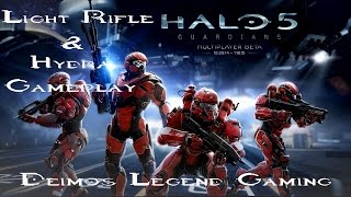 Halo 5 Beta: Light Rifle and Hydra Gameplay [3]