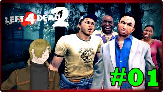 Left 4 Dead 2 - | FACECAM | '' Hotel Dos Mortos Vivos '' (01)