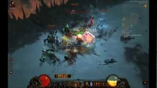 Diablo 3. Crowd control scoundrel. MP6 Fields of Slaughter