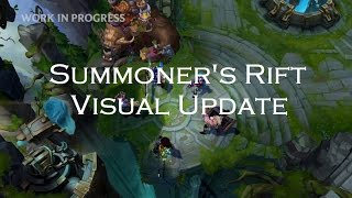 League of Legends - нов визуален update на Summoner's Rift