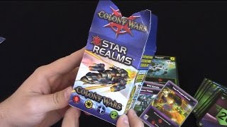 Star Realms Colony Wars: Unboxing