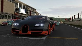 Forza Motorsport 6 Apex Beta - Bugatti Veyron SuperSport & Pagani Zonda Cinque Roadster Gameplay