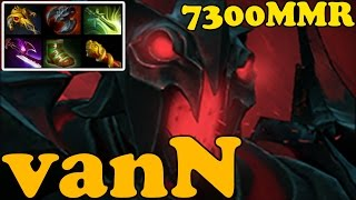 Dota 2 - vanN 7300 MMR Plays Shadow Fiend - Ranked Match Gameplay