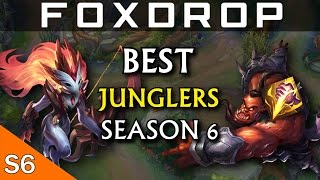 Top 5 Junglers in Season 6 (Pre-Season) - League of Legends