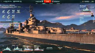 World of Warships (1й бой на Ямато)
