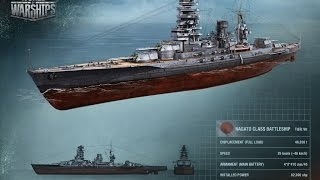 "World of Warships ""Покупаем Nagato"" Стрим"
