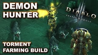 Diablo 3 RoS: Demon Hunter Torment Burst Farming Build - Getting into Higher Difficulties