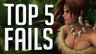 ® Top 5 LoL Fails | Episode 98 (League of Legends)