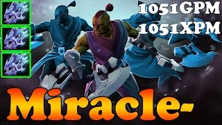 Dota 2 - Miracle- 8000 MMR TOP 1 MMR EU Plays Anti-Mage vol 5 - Ranked Match Gameplay