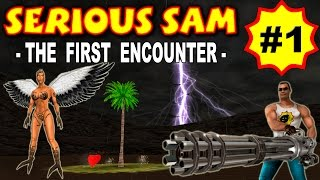 Serious Sam: The First Encounter, Древний Египет (ВСЕ СЕКРЕТЫ) часть 1 прохождение