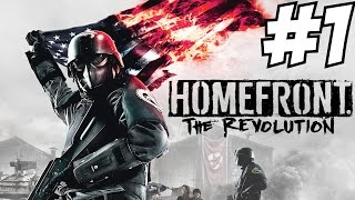 Homefront The Revolution Gameplay Walkthrough Part 1 Story Campaign  Let's Play Review  PS4 Xbox One