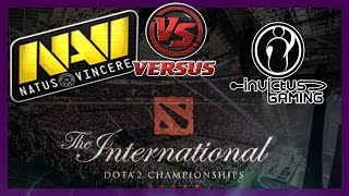 NaVi vs IG bo1 International 2014 Dota 2 #ti4 RUS