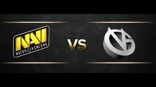 Navi vs Vici - @Casper & Godhunt - Dota 2 The International 2015 Main Event