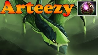 Dota 2 - Arteezy 7200 MMR Plays Viper with Octarine - Ranked Match Gameplay