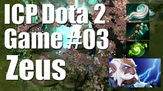Dota 2 - Game 3 - Zeus Gameplay/Replay!