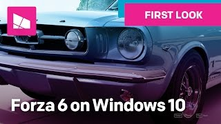 Forza Motorsport 6: Apex first look on Windows 10!