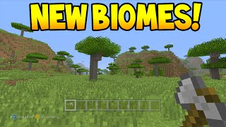 Minecraft (Xbox360/PS3) - TU26 Update! - Savanna Biome + Roofed Forest