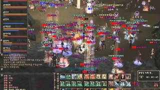 Lineage 2 Classic - Sorc, 61lvl mass pvp [Korean server]