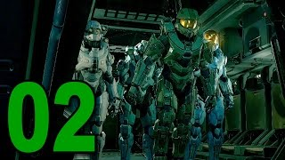 Halo 5: Guardians - Mission 2 - Blue Team (Let's Play / Walkthrough / Gameplay)