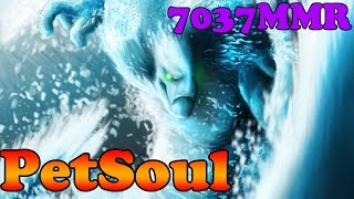 Dota 2 - PetSoul 7037 MMR plays Morphling - Ranked Match Gameplay