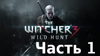 Ведьмак 3: Дикая Охота - прохождение на русском. Часть 1. (The Witcher 3: Wild Hunt Gameplay)
